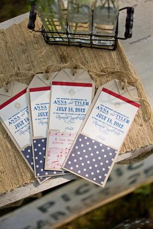 Americana-Patriotic-Wedding-Programs