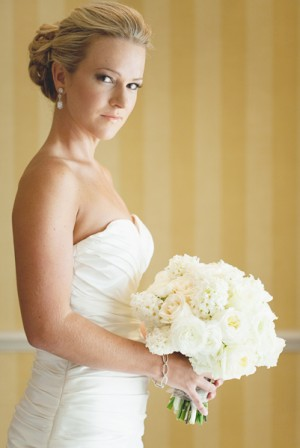 Classic-Bride-and-Bouquet