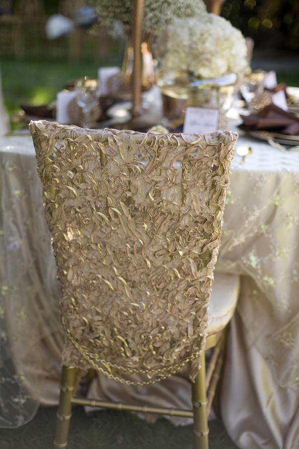 Elegant Lace Beaded Chair Covers Elizabeth Anne Designs