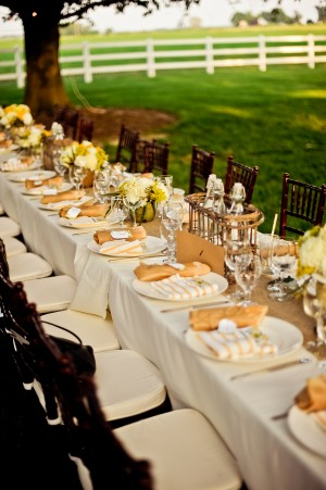 Elegant-Rustic-Yellow-Tablescape