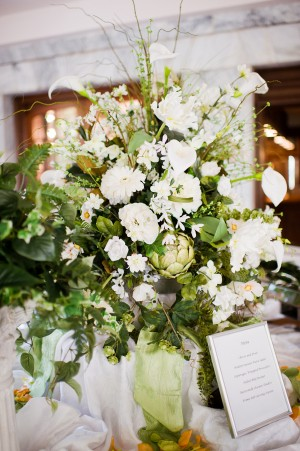 Large-Green-and-White-Artichoke-Wedding-Arrangement