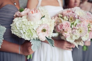 Romantic-Feminine-Pink-and-White-Bouquets