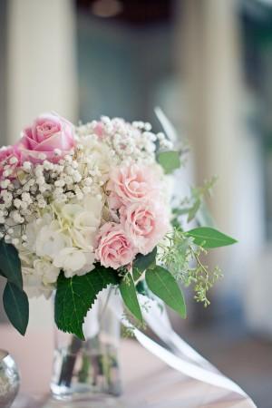 Rose-Hydrangea-Centerpiece