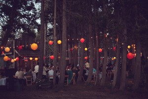 Rustic-Wedding-Reception-in-the-Woods