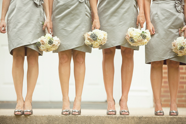 Silver-Bridesmaids-Dresses