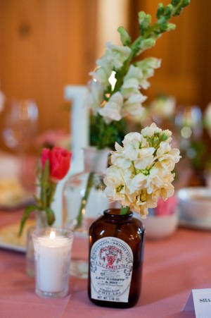 Vintage-Apothecary-Bottle-Centerpiece