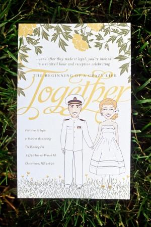 Vintage-Illustration-Wedding-Invitations