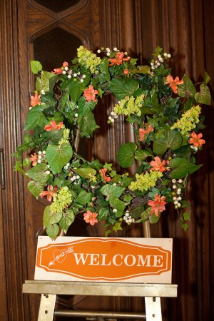 Wedding-Welcome-Sign-Wreath