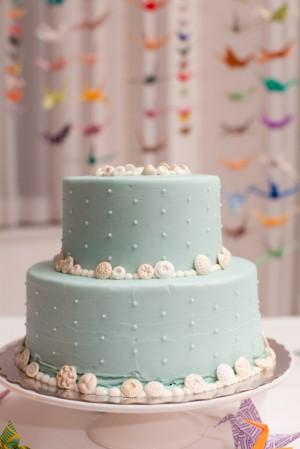 Aqua-Wedding-Cake