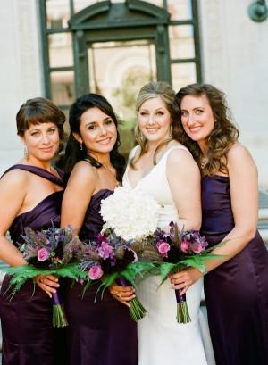Aubergine-Bridesmaids