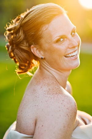 Beautiful-Redhead-Wedding-Updo