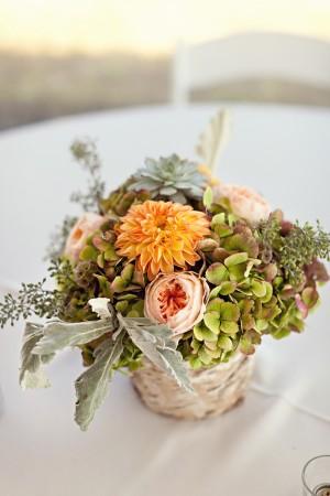 Birch-Bark-Wrapped-Wedding-Centerpiece