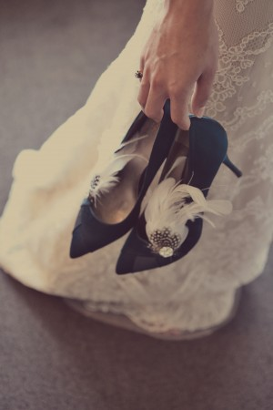 Blue-Feathered-Wedding-Shoes