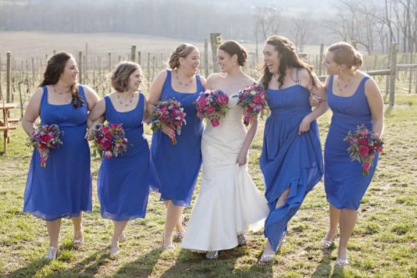 Bright-Royal-Blue-Bridesmaids