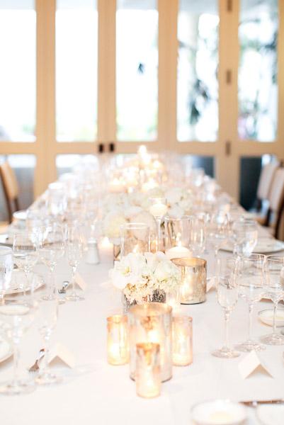Champagne-White-Silver-Wedding-Reception-Tablescape - Elizabeth Anne ...