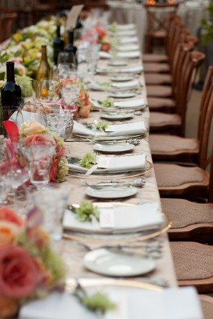 Champagne-and-Gold-Placesettings