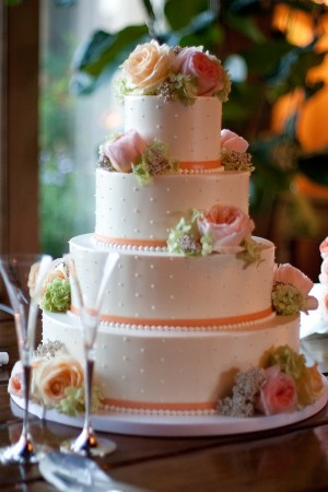 Coral-Swiss-Dot-Cake