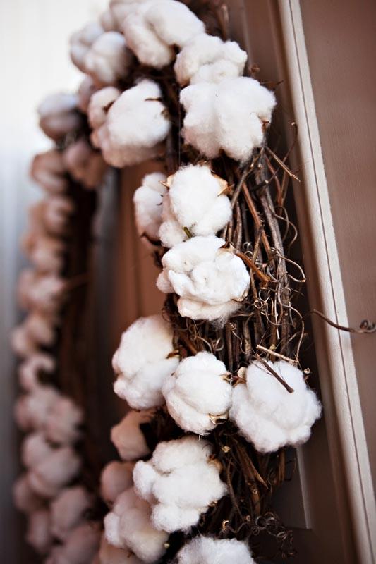 Cotton-Wreath