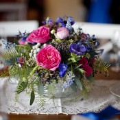Hot-Pink-Purple-Blue-Wedding-Centerpiece