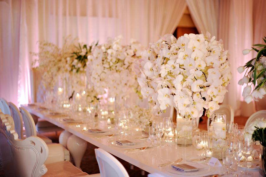 Large White Elegant Floral Centerpieces Elizabeth Anne Designs
