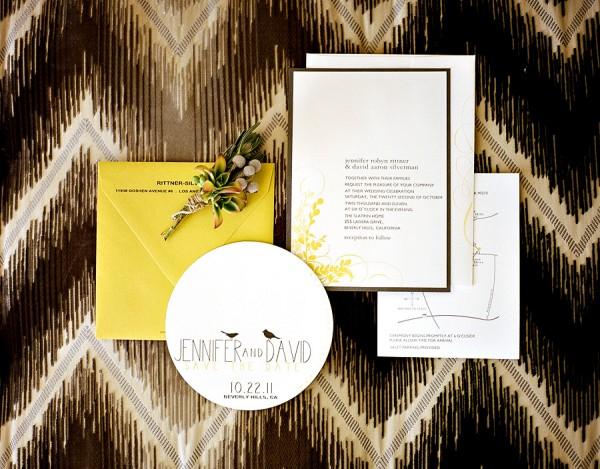 Modern-Yellow-Brown-Wedding-Invitations