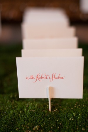 Pink-Calligraphy-Escort-Cards