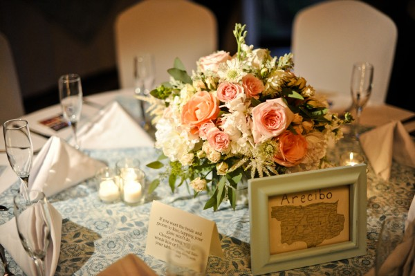Pink-Rose-White-Astilbe-Wedding-Reception-Centerpiece