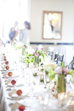 Pink-and-Green-Centerpiece