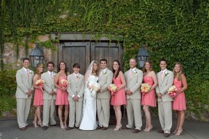 Pink-and-Grey-Bridal-Party
