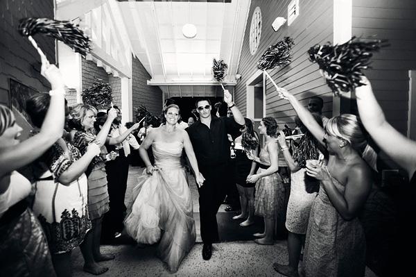 Pom-Pom-Wedding-Sendoff