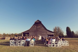 Rustic-Barn-Wedding-Ceremony