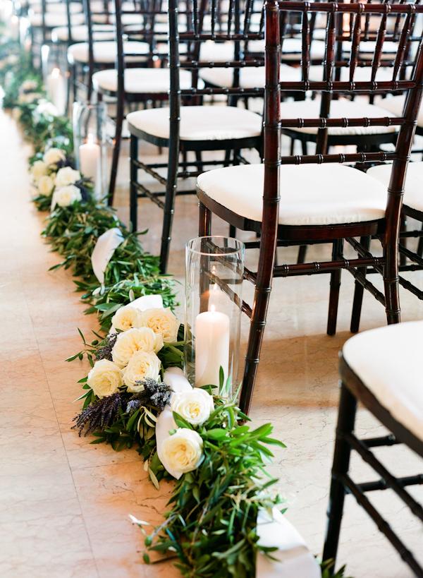 Wedding Aisle Decor.Vine Lavender And Rose Wedding Aisle Decor Elizabeth Anne Designs