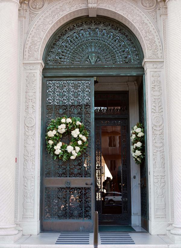 Wedding-Door-Wreath