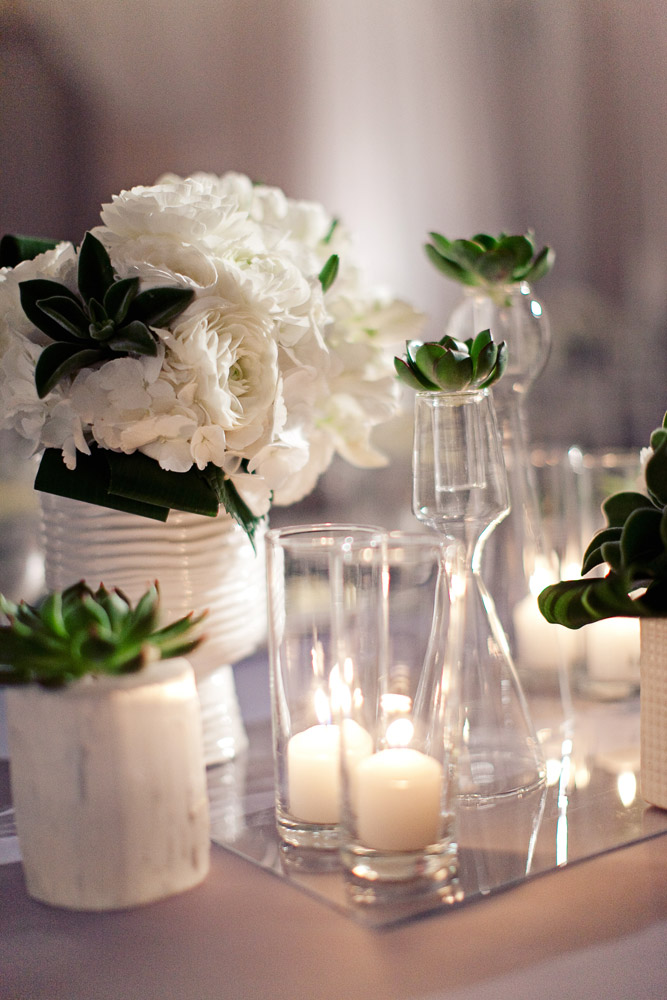 White Wedding Centerpieces Elizabeth Anne Designs The