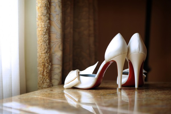 White-Wedding-Louboutin-Shoes