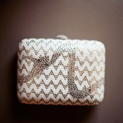 White-and-Gold-Jeweled-Chevron-Clutch