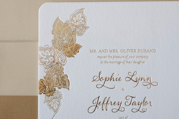 BellaFiguraGoldFoilLetterpressWeddingInvitation Elizabeth