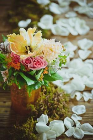 Copper-Vase-Florals