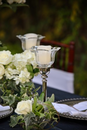 Crystal-Candle-Ivy-Rose-Centerpiece