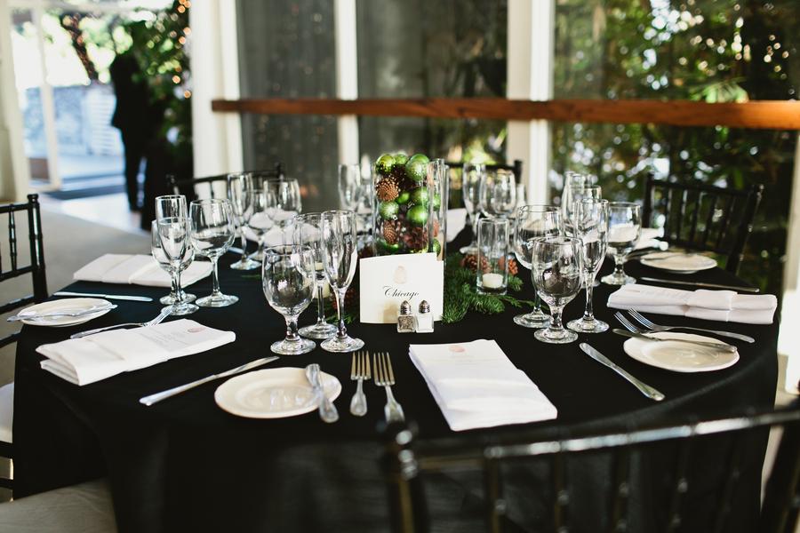Elegant black wedding tablescape elizabeth anne designs for Black and white tablescape ideas