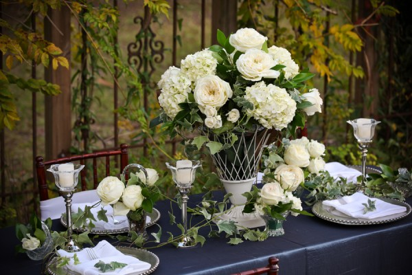 Elegant-Ivory-Ivy-Tablescape