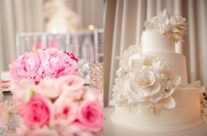 Elegant-Pink-White-Wedding