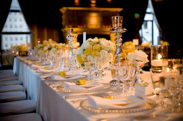 Elegant-Yellow-White-Tablescape