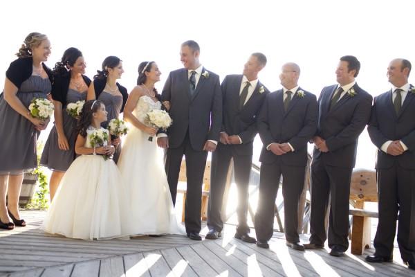 Grey-Wedding-Party