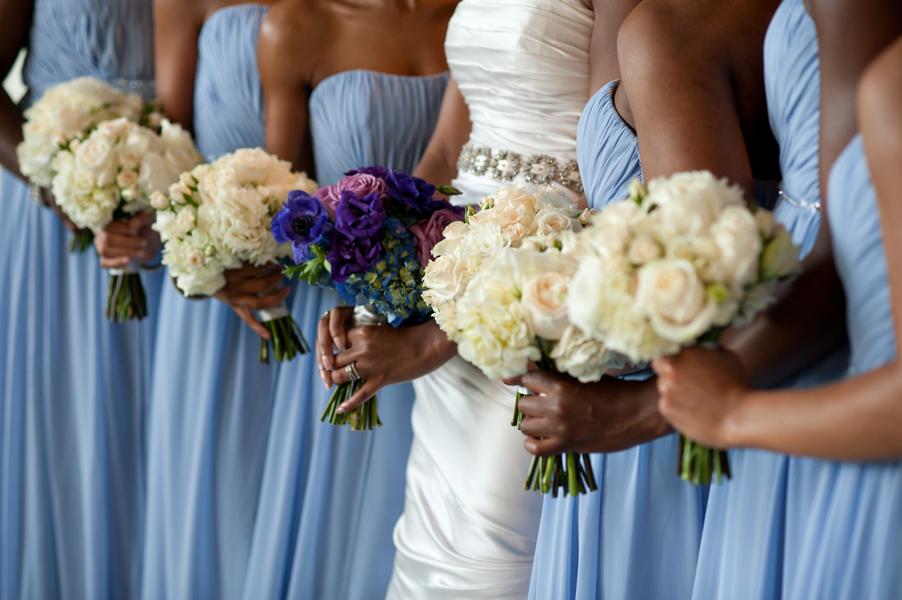 Light-Blue-Bridesmaids-Dresses - Elizabeth Anne Designs: The ...