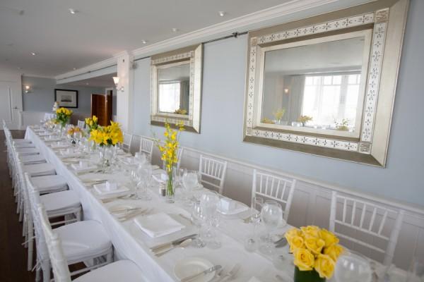 Modern-White-and-Yellow-Wedding-Reception