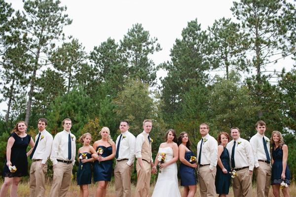 Navy-and-Tan-Bridal-Party