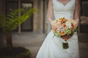 Peach-Wedding-Bouquet