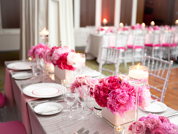 Pink-Silver-Elegant-Wedding