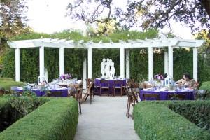 Purple-Wedding-Reception-Pergola